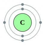 Carbon atom.